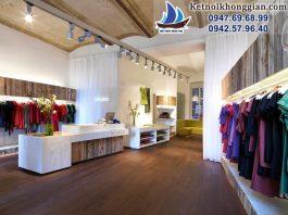 thiết kế shop thời trang nữ Anukoo - Hà Nội