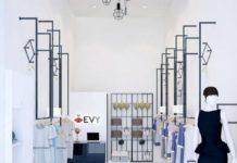 thiết kế cửa hàng thời trang công sở