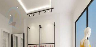 Thiết kế cửa hàng thời trang 18m2