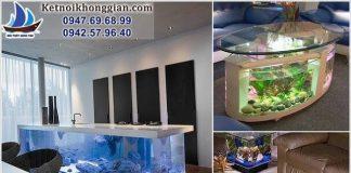 bể cá trang trí nhà