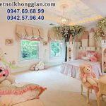 mẫu thiết kế phòng ngủ bé gái