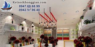 Thiết kế cửa hàng hoa