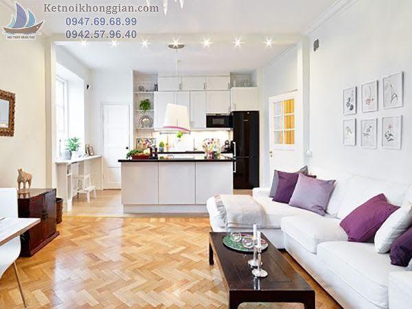 Thiết kế nội thất căn hộ 15m2