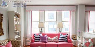 Sofa hồng
