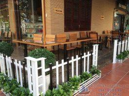 Thi công quán cafe diện tích nhỏ