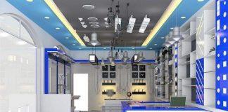 Thiết kế cửa hàng thiết bị điện