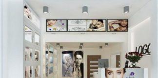 Thiết kế cửa hàng trang sức