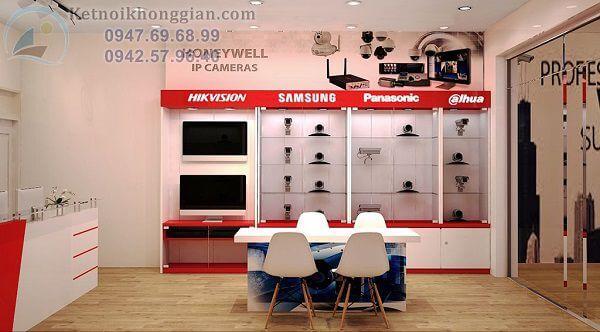 Thiết kế cửa hàng camera an ninh