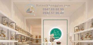 Thiết kế shop gấu bông online