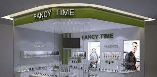 Thiết kế gian hàng đồng hồ