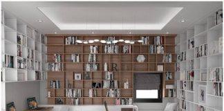 Thiết kế phòng đọc sách hiện đại