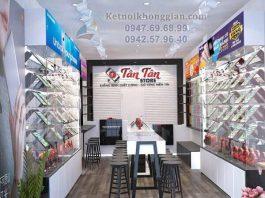 Thiết kế shop điện thoại 25m2