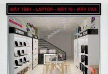Thiết kế cửa hàng máy tính 31m2