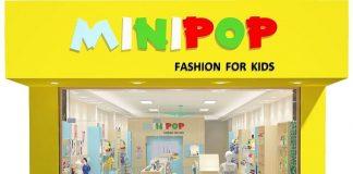 Thiết kế shop thời trang trẻ em 70m2