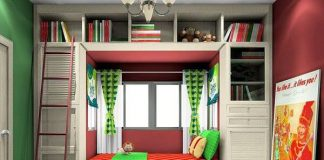 Thiết kế phòng ngủ bé gái 10 tuổi
