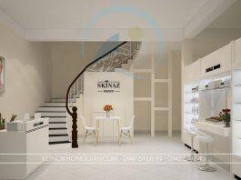 Thiết kế shop mỹ phẩm 45m2