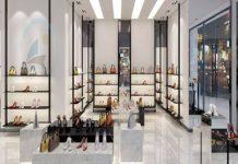shop giày 60m2